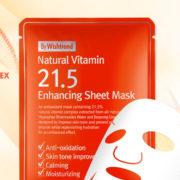 Natural Vitamin 21.5 Enhancing Sheetmask